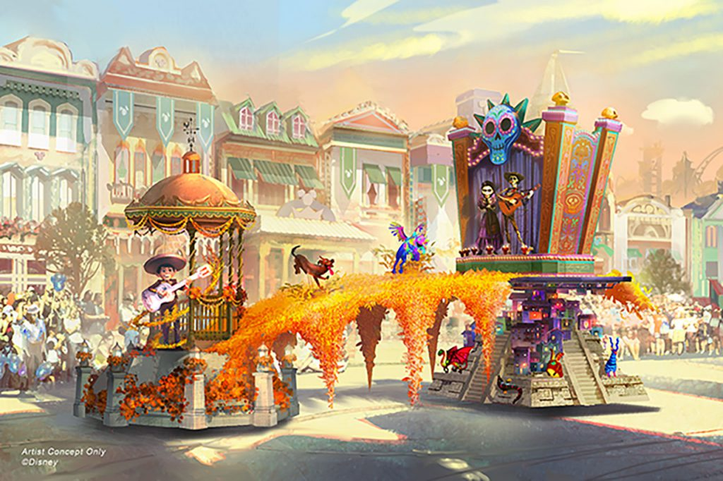 princess and the frog ride concept art