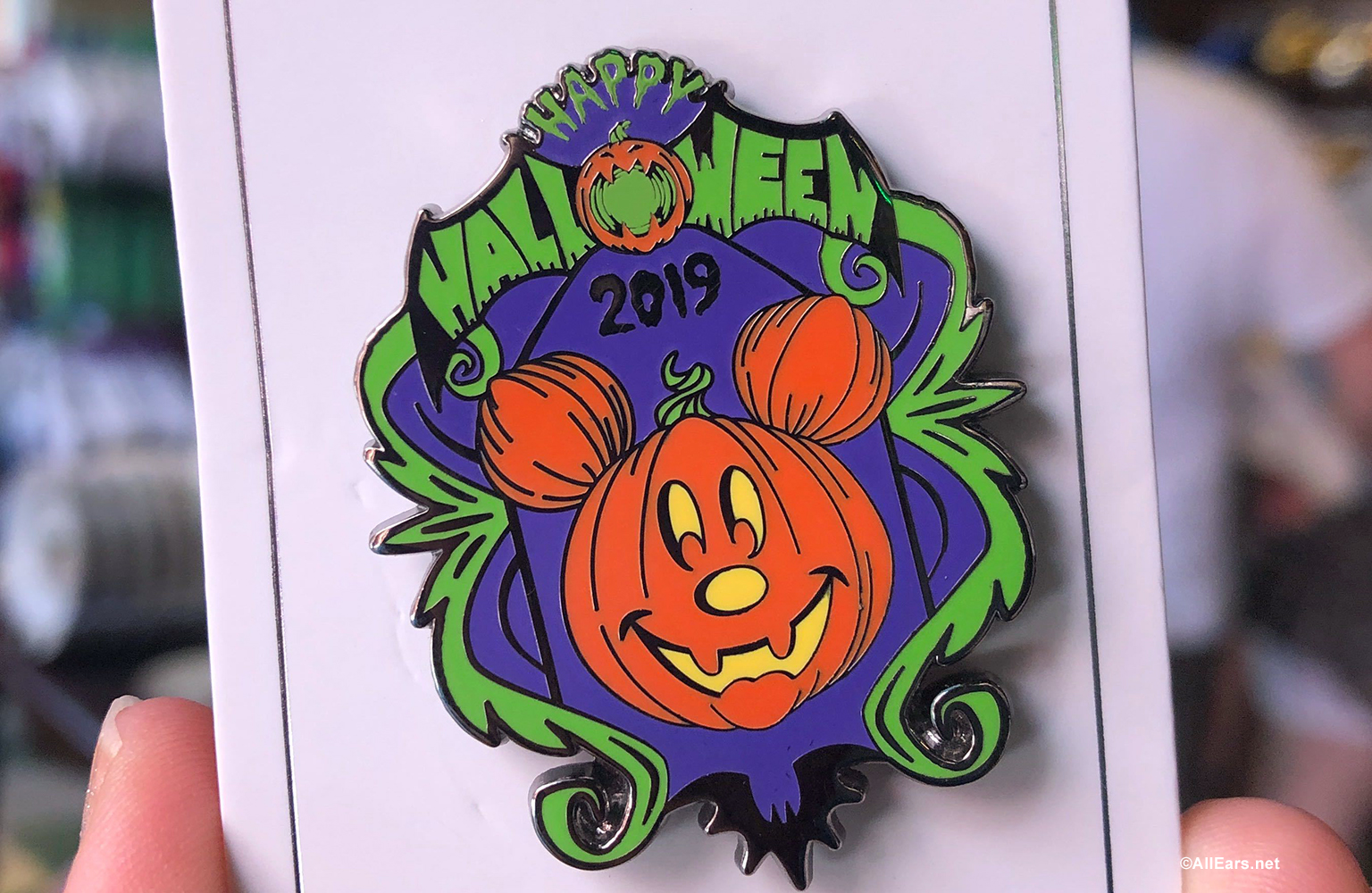 Halloween Sweet Treats, Spooky Pins, and More Pop Up in Disney World!