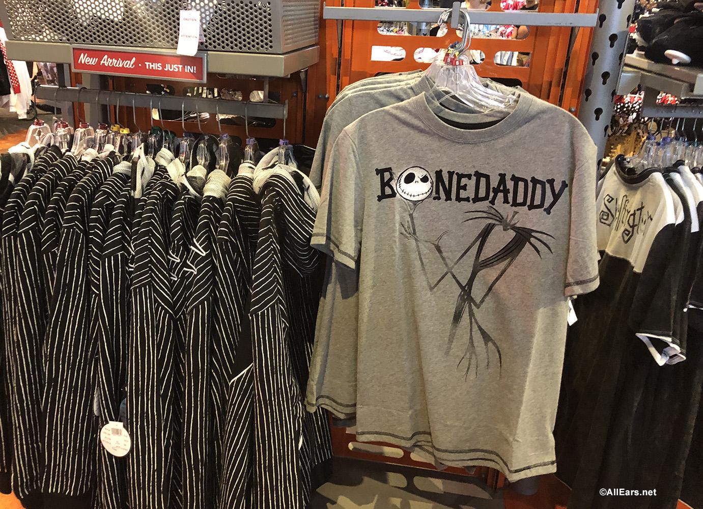 Nightmare Before Christmas Jack Skellington Bone Daddy Sweatshirt New Official