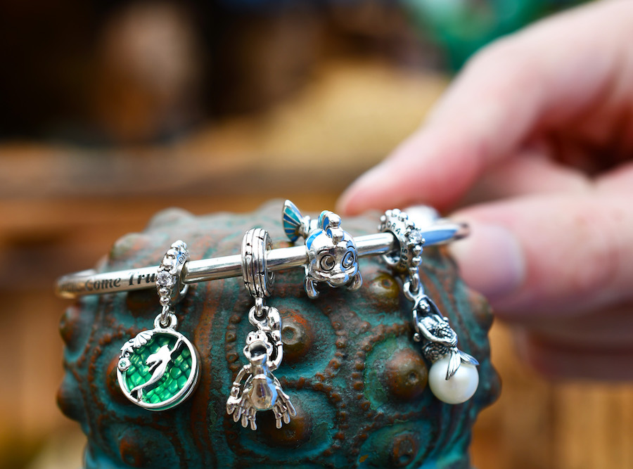 New Disney Pandora Charms Coming Soon, Including Epcot Food & Wine Exclusives!
