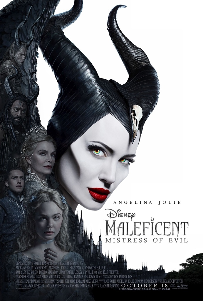 New Poster for Maleficent: Mistress of Evil, Starring Angelina Jolie