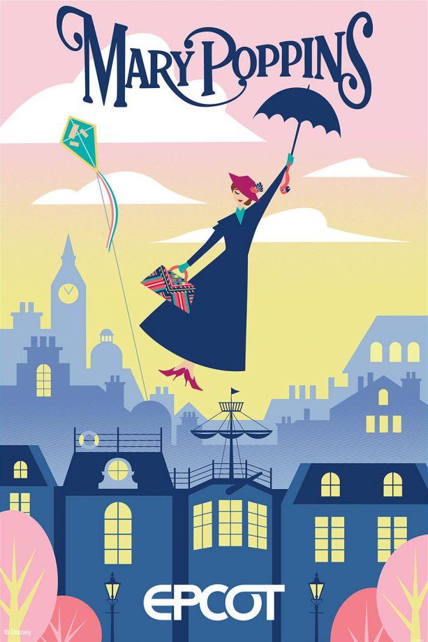Pin Disneyland Paris Mary Poppins Perfect OE