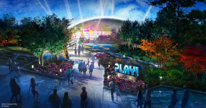 Play Pavilion Concept Art ©Disney