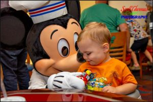 Chef Mickeys Character Meal with Mickey Mouse