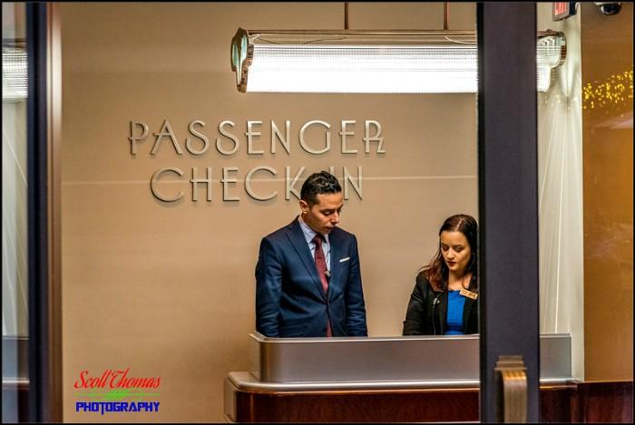 Maria and Enzos Ristorante Check In Counter
