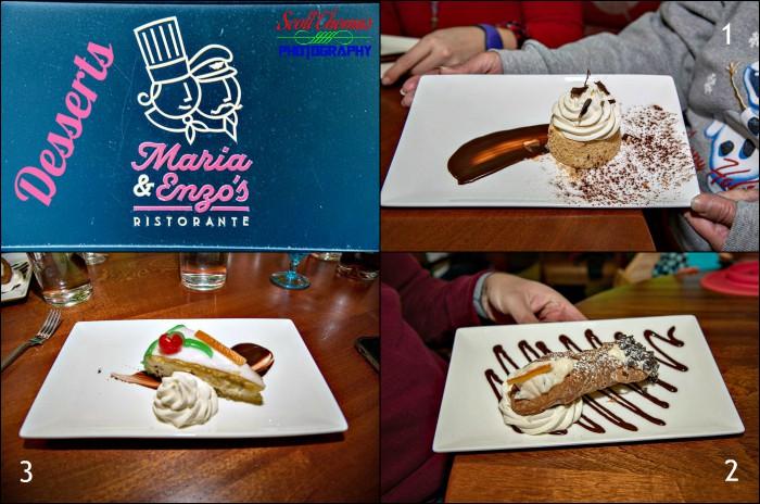 Maria and Enzos Ristorante Desserts
