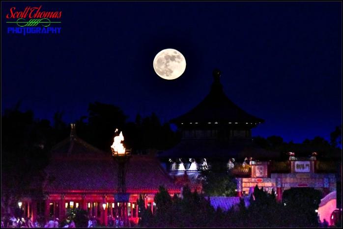 Photographing the Moonrise at Epcot - AllEars Net