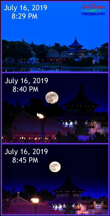 Moonrise Timeline