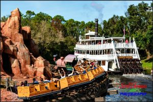 Frontierland River View
