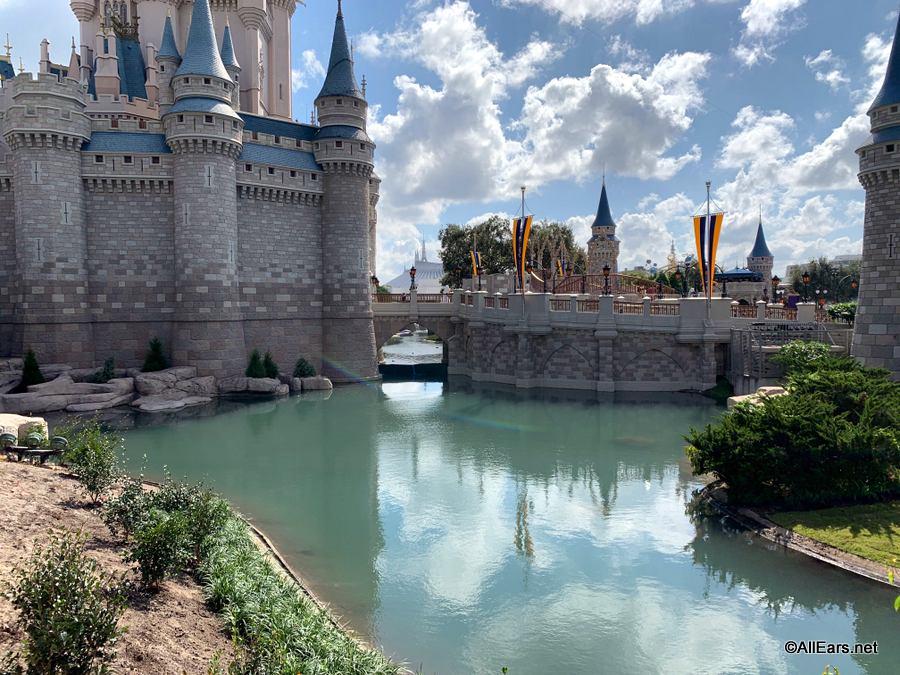 Cinderella Castle Moat Refilled; Magic Kingdom Ducks Rejoice (We Assume)