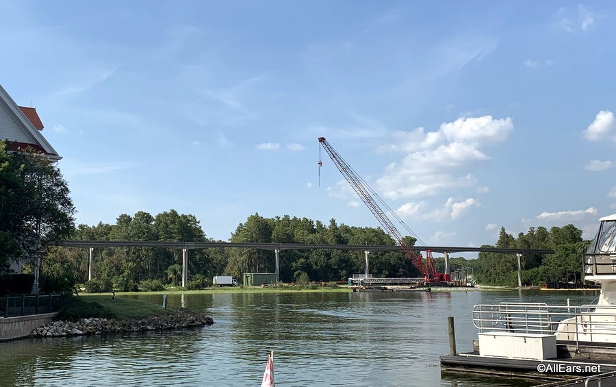 Construction Update: Work Progresses on Walkway Between Magic Kingdom and the Grand Floridian Resort & Spa
