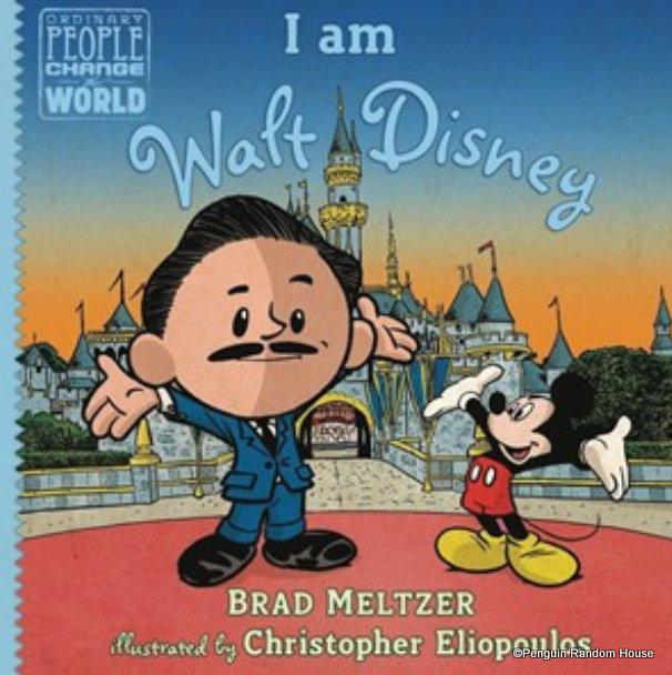 """NEW """"I am Walt Disney"""" Children's Book Arriving on Shelves 9/10!"""