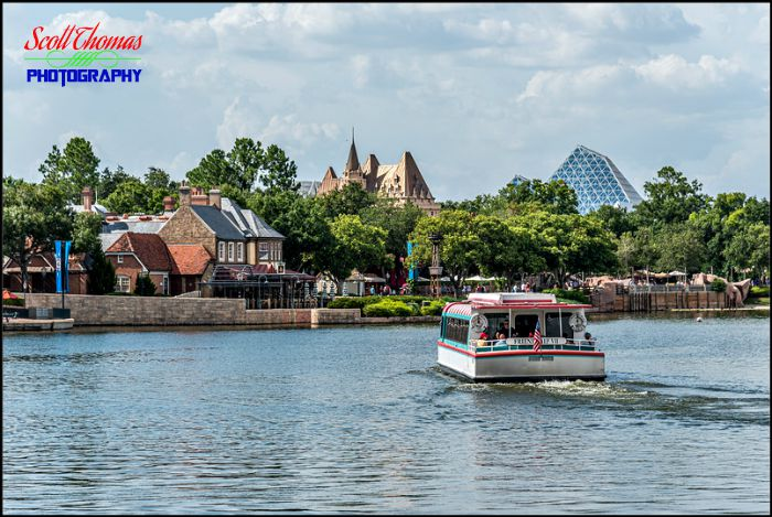 Epcot Friendship Boat