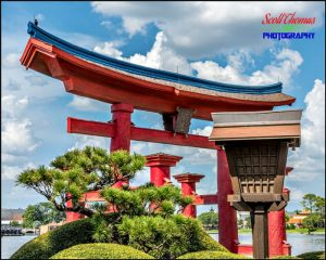 Epcot Japan Bird House