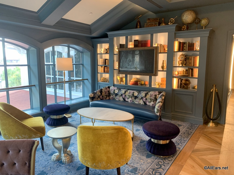 Enchanted Rose Lounge Library 014