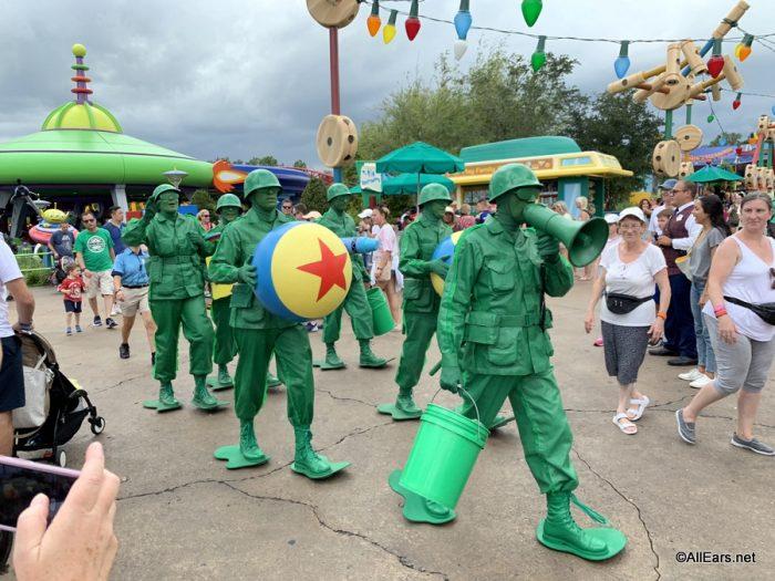 Green Army Patrol