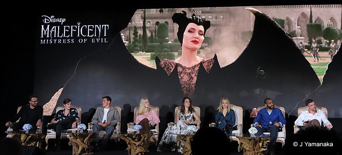 Press Conference Maleficent Mistress Of Evil Allears Net