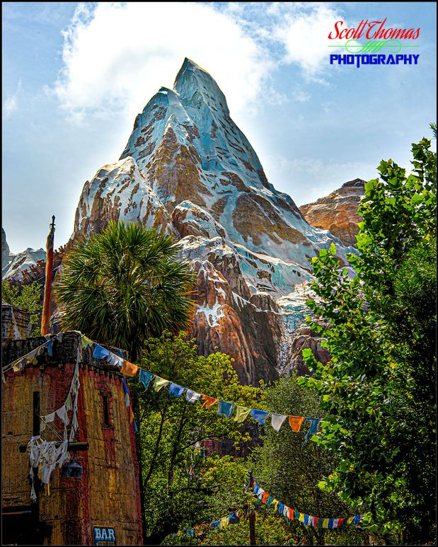 Expedition Everest Mountain