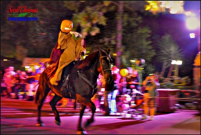 Headless Horseman in MNSSHP Parade