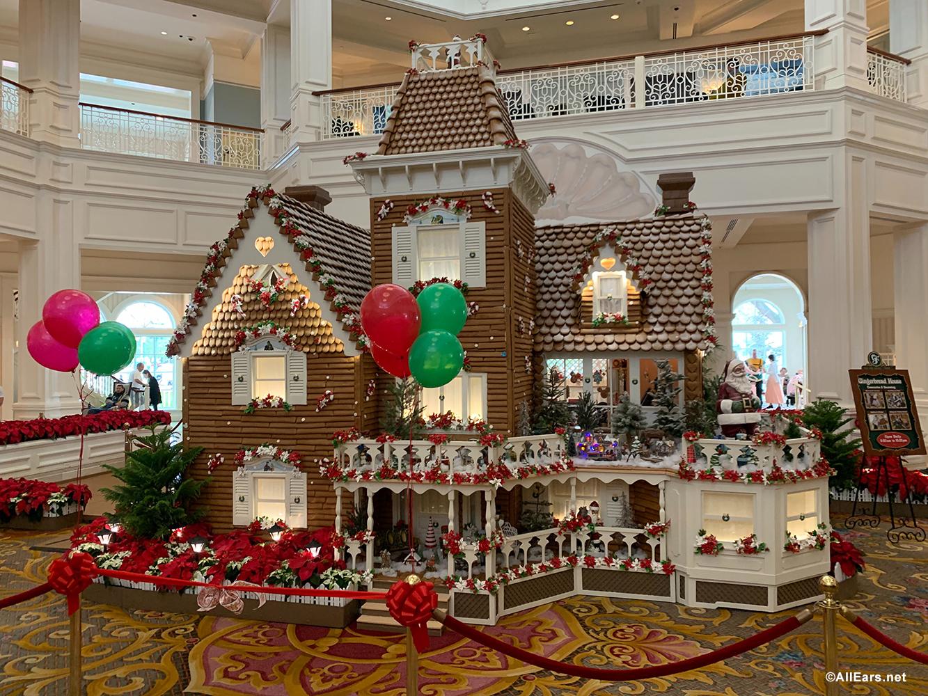Disney S Grand Floridian Gingerbread House Open For 2019 Season