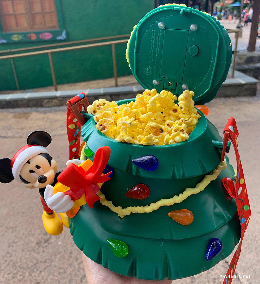 Photos: New Must-Have Christmas Popcorn Buckets and Drink Sippers Have Landed in Disney World ...