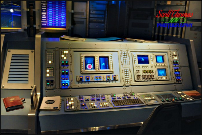 Mission Space Control Room