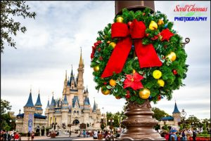 Cinderella Castle Wreath 2018