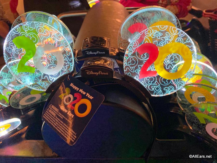 Commemorate The New Year With These Flashy New 2020 Souvenirs At Walt Disney World Allears Net,Cabinet Colors That Match Grey Walls