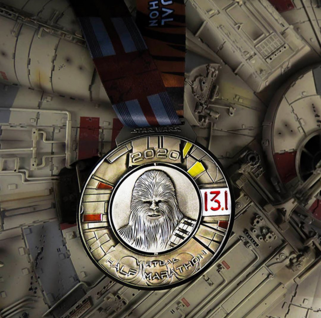 star 625_Check Out the New Medals for the 2020 Star Wars Rival Run! - AllEars.Net