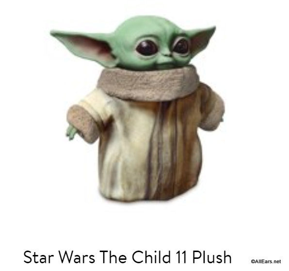New Look At The Baby Yoda Plush Allears Net They're not much bigger than two meters.. allears net