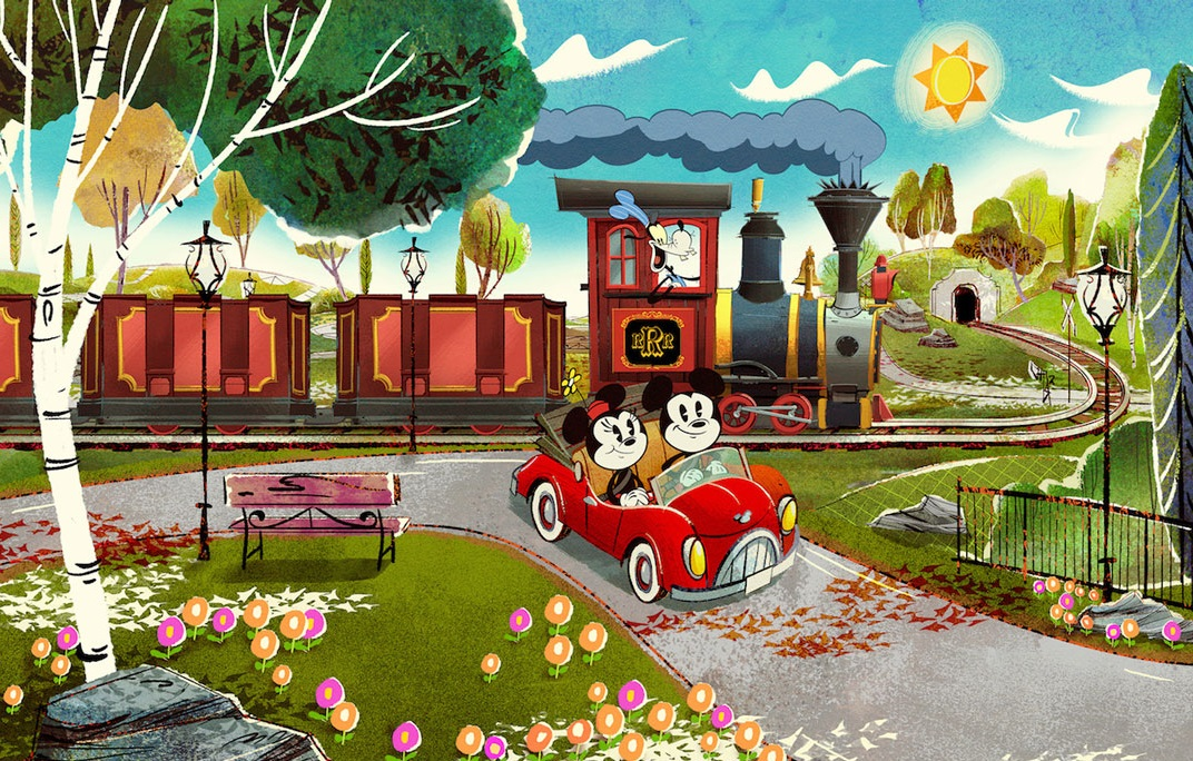 The Countdown for Mickey and Minnie's Runaway Railway Begins With The Release of New Poster Art - AllEars.Net