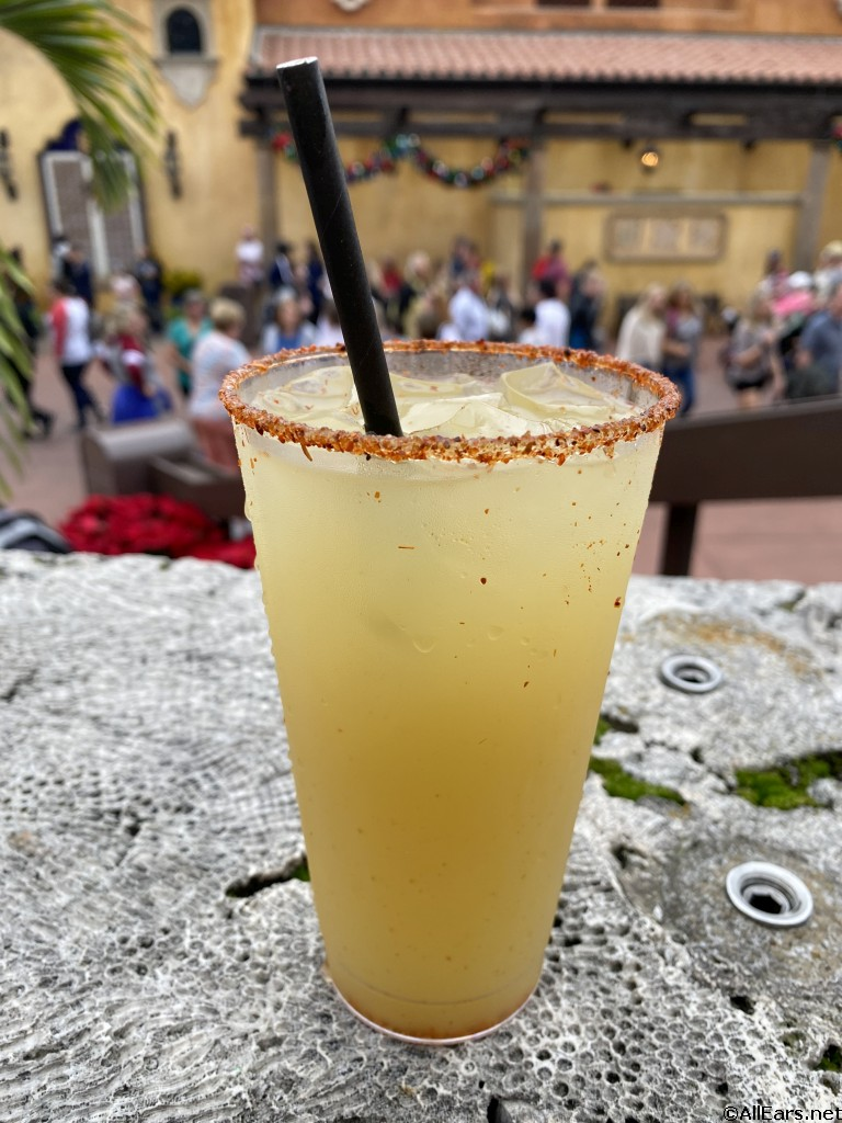 Smokey Pineapple Margarita