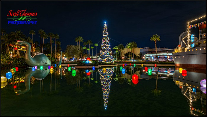 Disney's Hollywood Studios Christmas Tree 2019