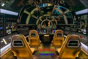 Galaxy's Edge Millennium Falcon Cockpit