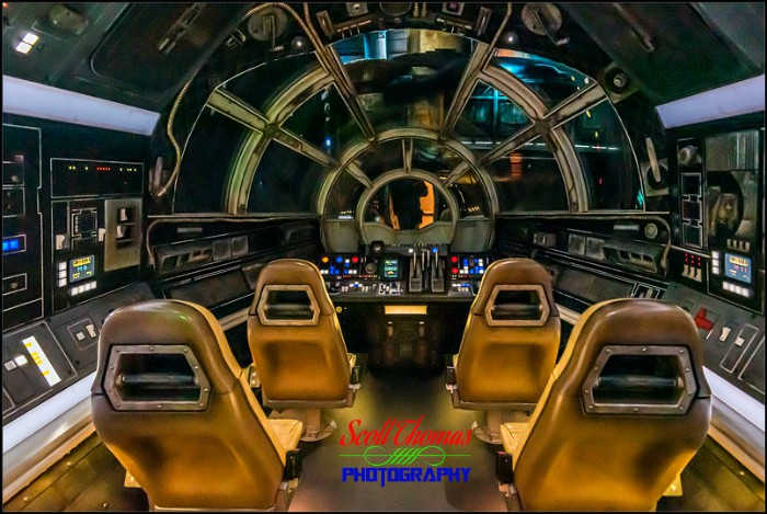 Galaxy's Edge Millennium Falcon Cockpit