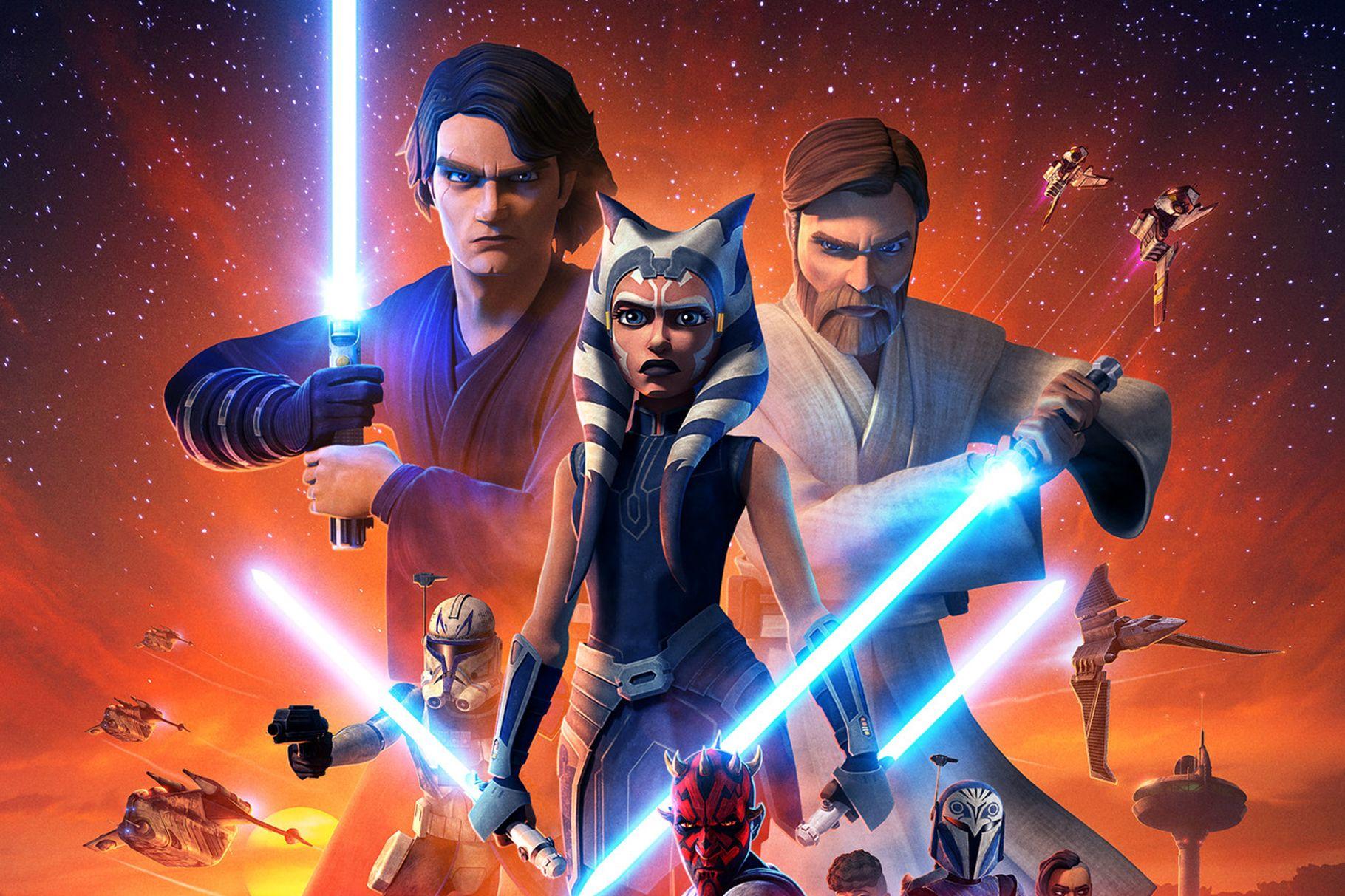 Disney+ Has Released a Sneak Peek From the Final Season of 'Star Wars: The Clone Wars'! - AllEars.Net