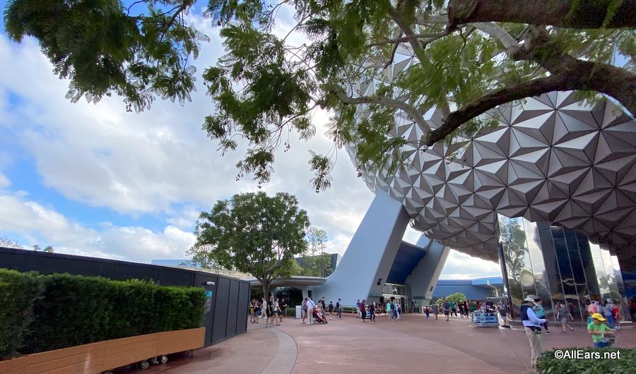 Epcot Construction Update: Main Entrance and Innoventions West Photo Tour - AllEars.Net