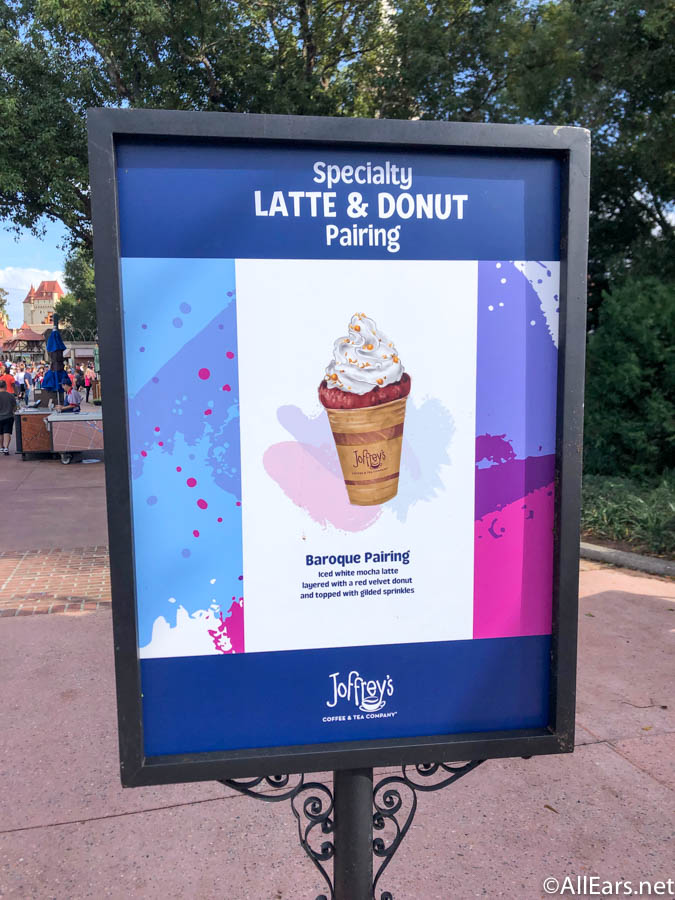 Joffrey's Latte and Donut Pairings at Epcot's Festival of the Arts Are True Masterpieces! - AllEars.Net