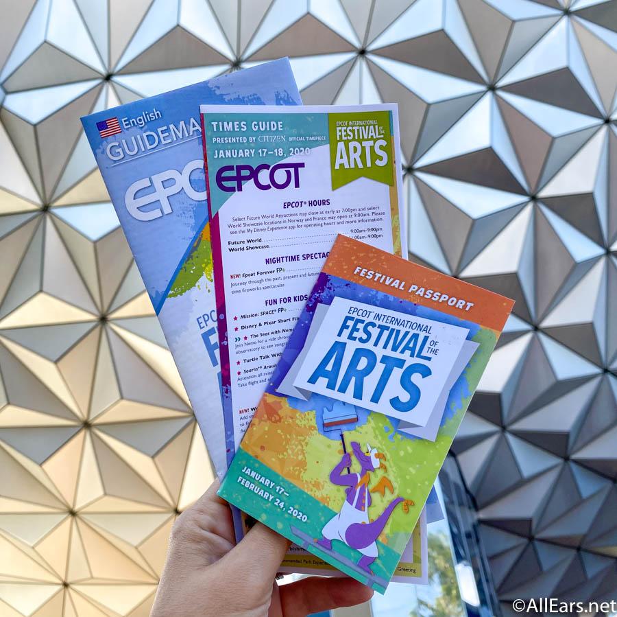 Epcot International Festival Of The Arts Artful Photo Ops Allears Net