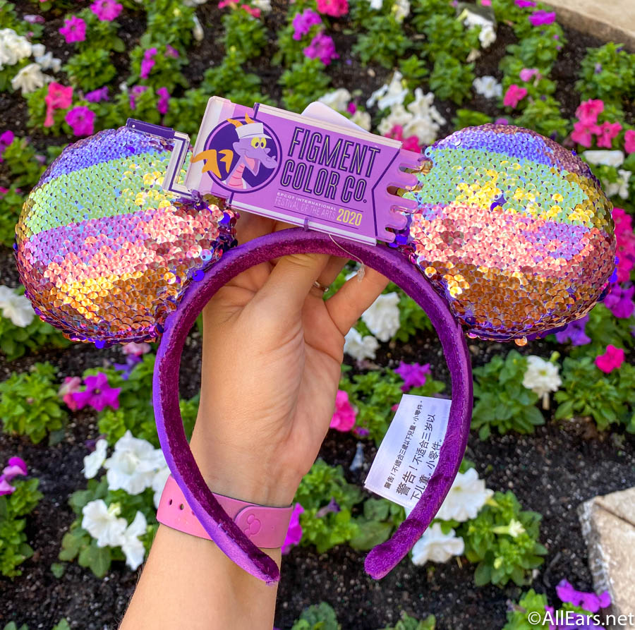 Your Mind Has Wings Or Ears With New Epcot Festival Of The Arts Ears At Walt Disney World Allears Net