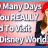 AllEars TV: How Many Days Do You Really Need to Visit Walt Disney World?