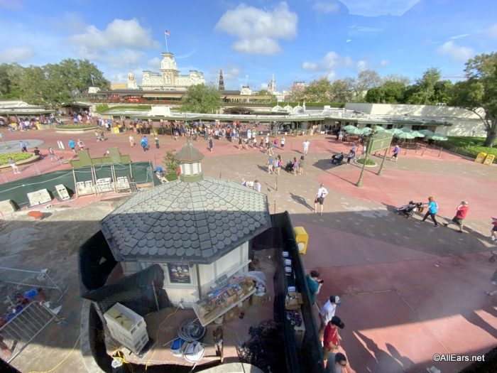 Magic Kingdom Construction Update: TRON Progress, Splash Scaffolding, and More! - AllEars.Net