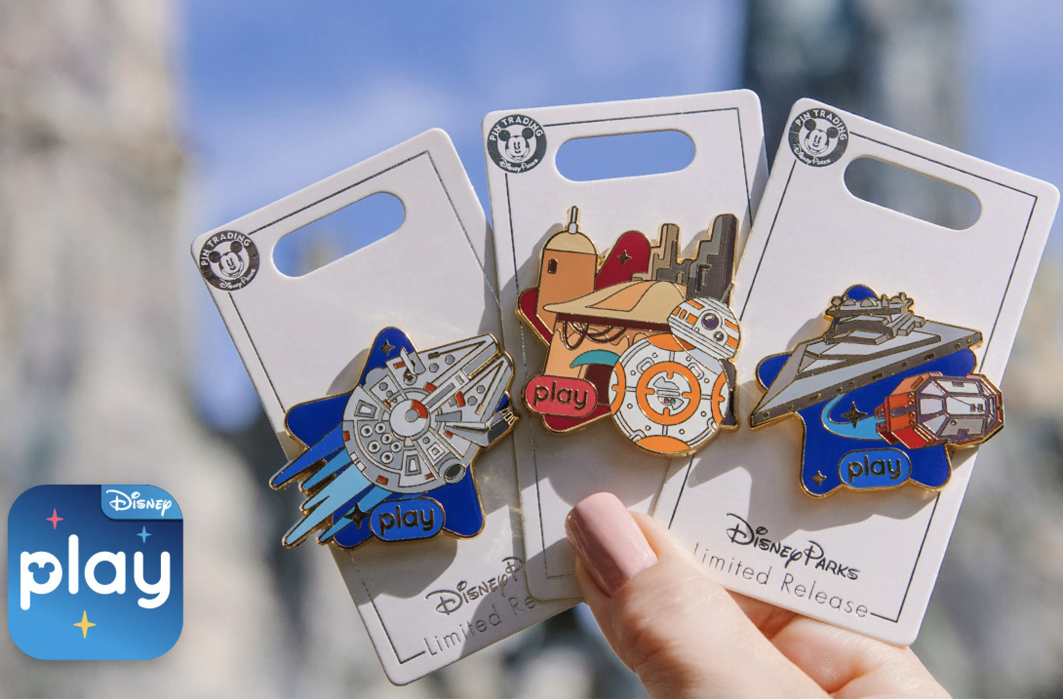 7 Disney Cruise Line Themed Character Trading Park Pins Specific Set ~ Brand NEW