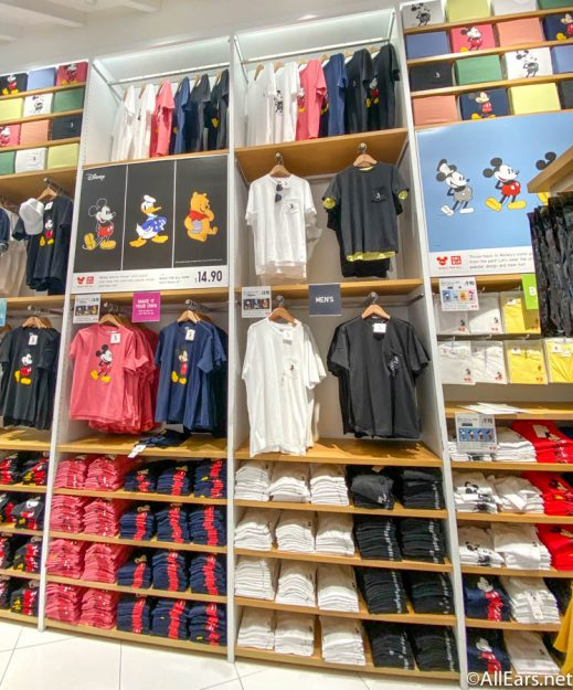 New Disney Clothing Collection Available at Uniqlo - AllEars.Net