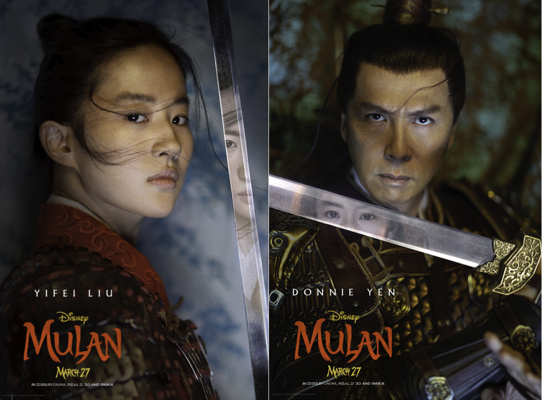Meet The Stars Of Disney S Mulan In These Reflective New Posters Allears Net