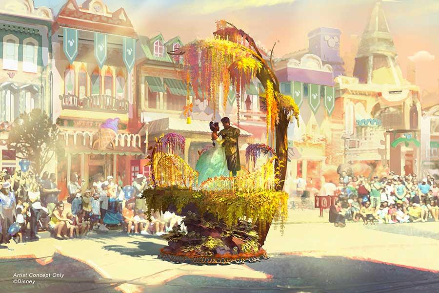 New Concept Art Revealed For Disneyland S Magic Happens Parade Allears Net