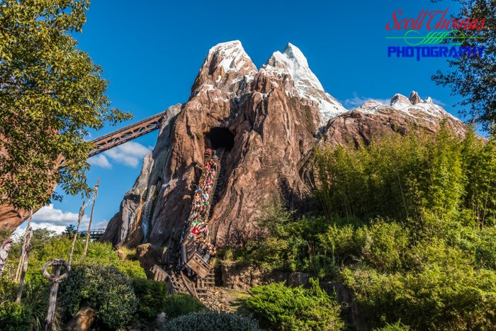 Expedition Everest with a Fast Shutter