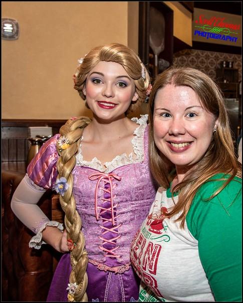 Rapunzel Character Meet