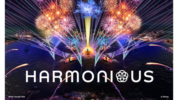 We've Got Our First Look at the Logo of Disney's Upcoming Nighttime Spectacular 'Harmonious'! - AllEars.Net