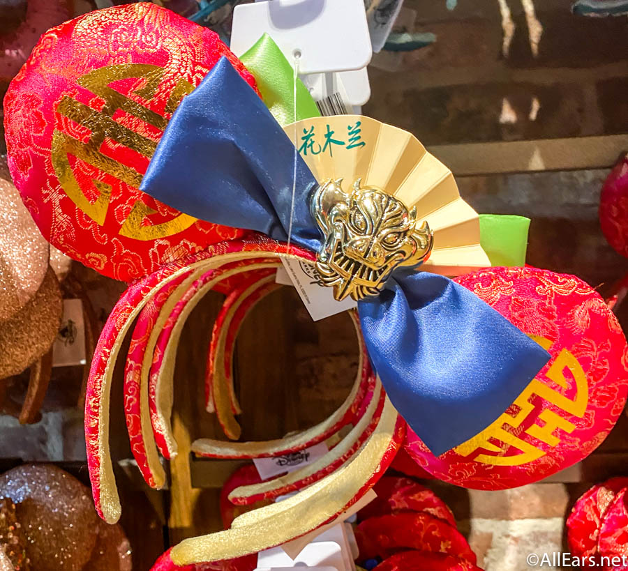 You're Gonna Want to Catch a Glimpse of Your Reflection in These Reversible Mulan Ears at Disneyland! - AllEars.Net